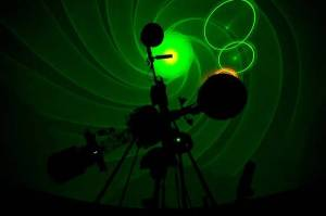 WF Planetarium laser shows