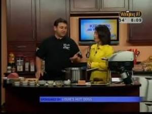 Chef Angelo in kitchen
