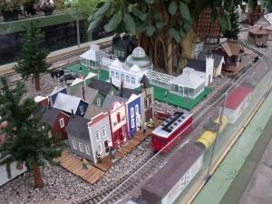 Gardens Railway Exhibit